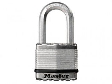 Excell Laminated Steel 50mm Padlock - 38mm Shackle